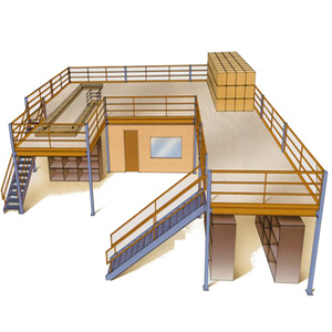 Mezzanine floors and storage solutions for your office fit out or office refurb