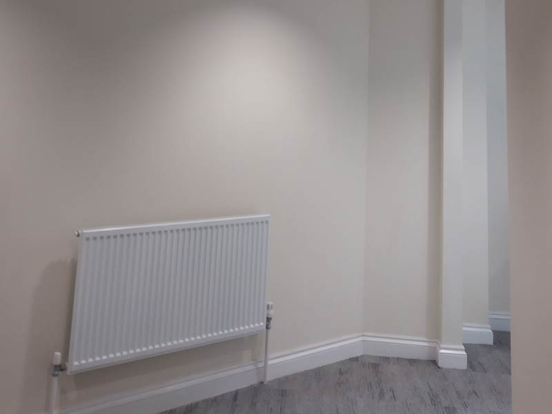 Hall / Corridor area after work space fit out
