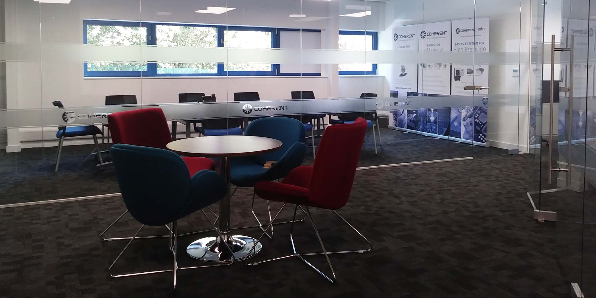 Communal area with seating - work space fit out