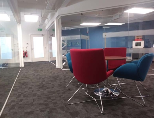 Coherent work space redesign and refurbishment