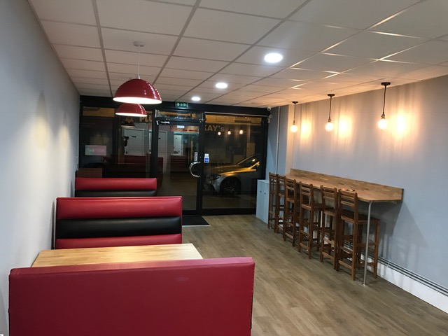 Restaurant fit out completed by About Time Solutions