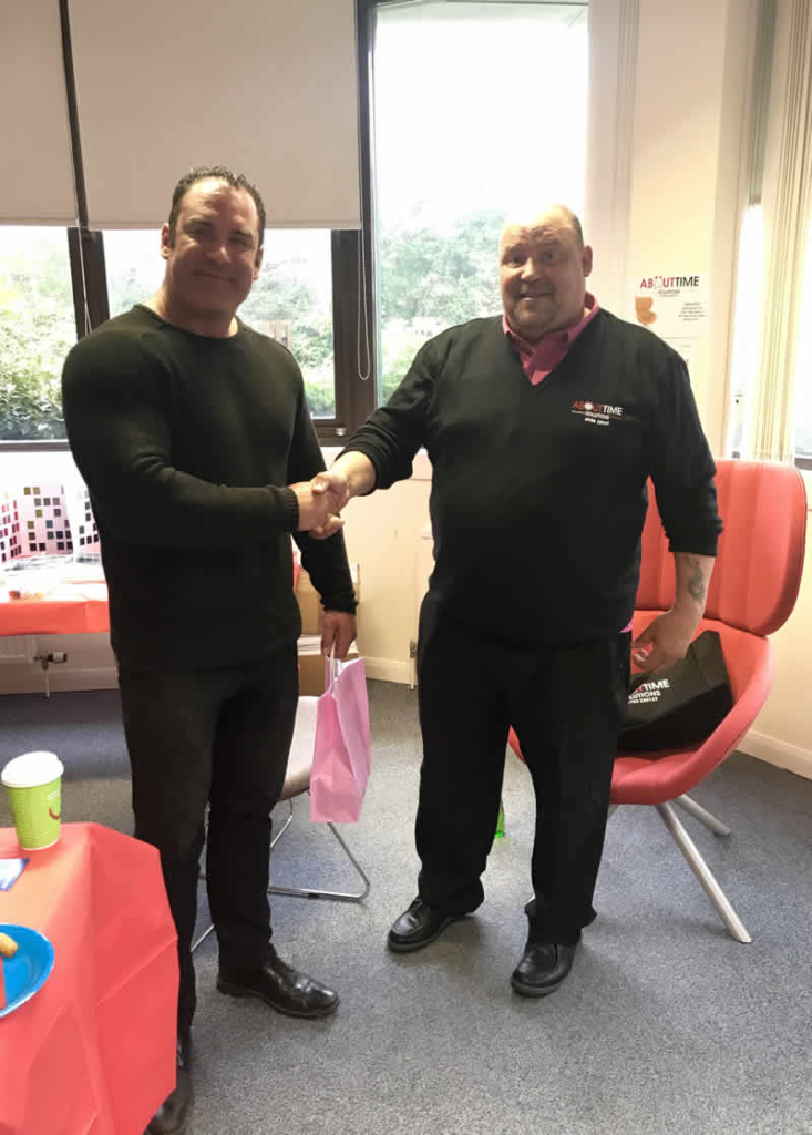 office fit out company ATS give out open day prize