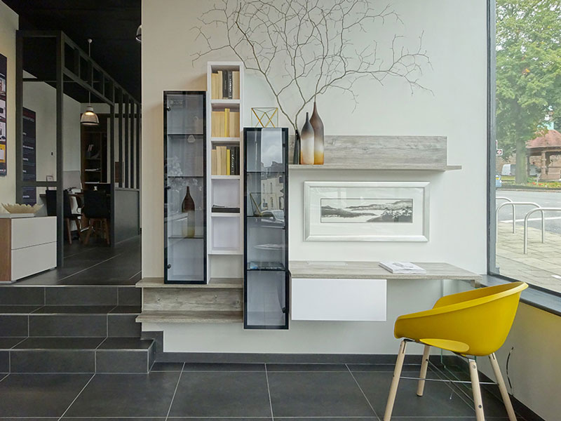 kitchen showroom fit-out Bristol
