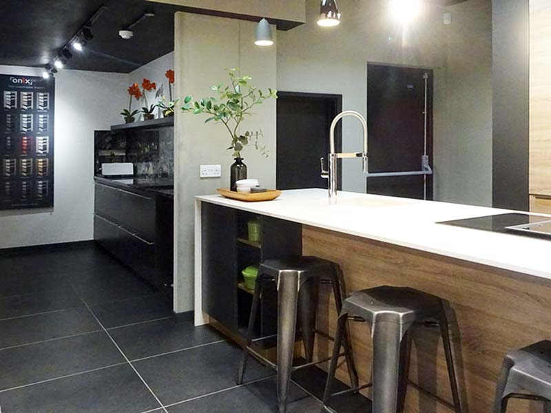 showroom fit-out in Bristol by About Time Solutions